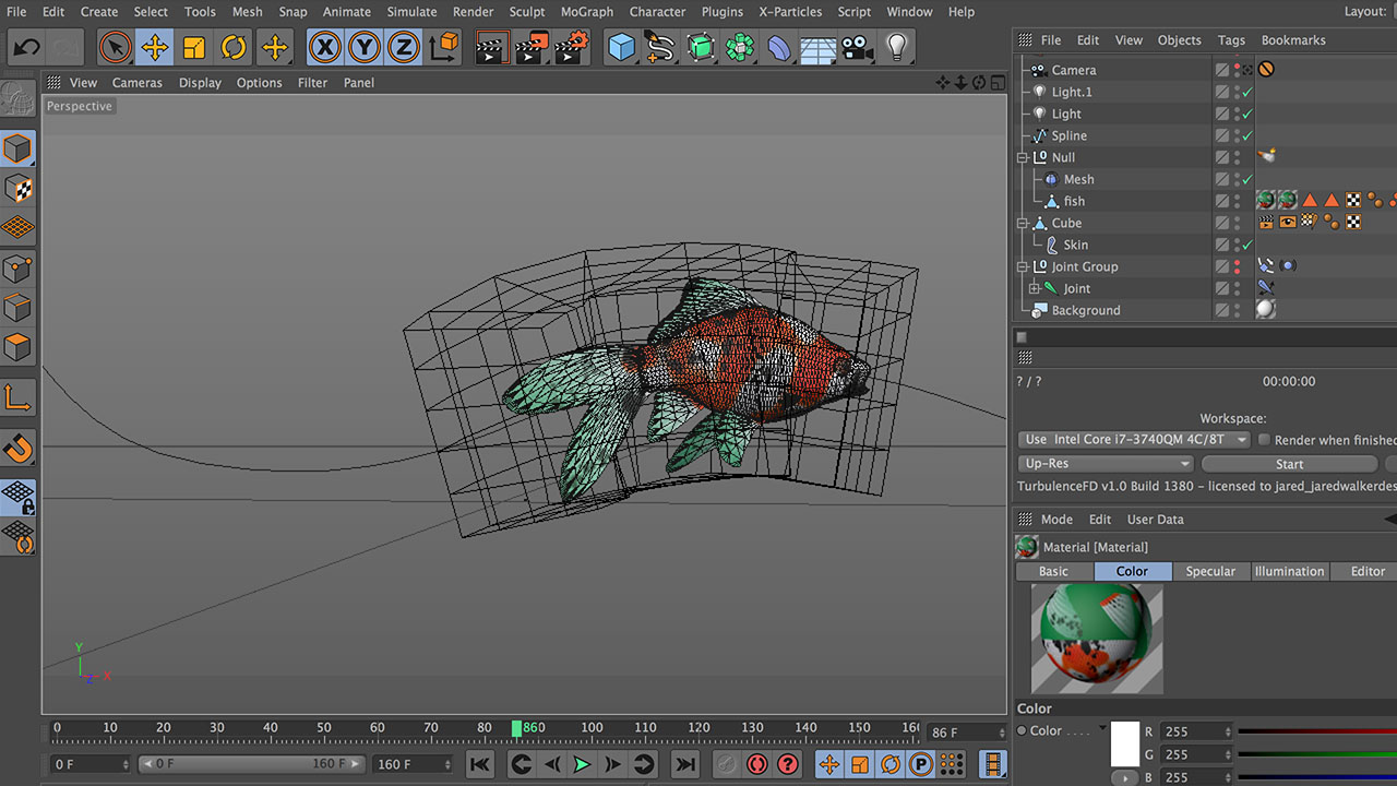 Turbulence FD Ink/Smoke Trail Tutorial Part 1: Rigging and