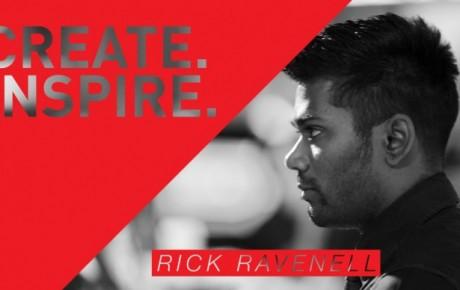 CREATE. INSPIRE. – Rick Ravenell
