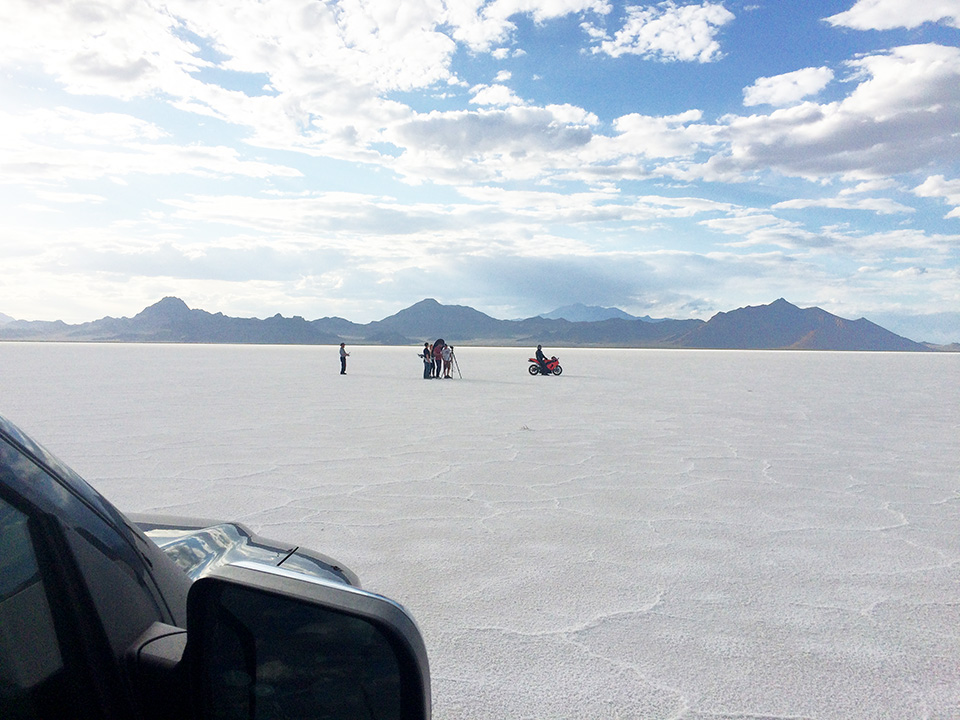 Salt Flats Drone